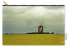 Windmill And Rapeseed And Storm Carry-all Pouch