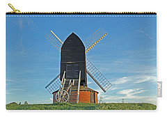Windmill At Brill Carry-all Pouch by Tony Murtagh