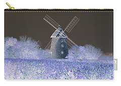 Windmill In A Purple Haze Carry-all Pouch