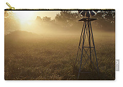 Windmill In The Fog Carry-all Pouch