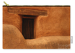 Window Detail Degrazia Mission In The Sun Carry-all Pouch