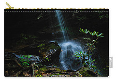 Carry-all Pouch featuring the photograph Window Falls by Jessica Brawley