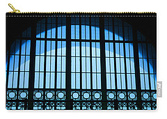Carry-all Pouch featuring the photograph Window In Chattanooga Train Depot by Susan  McMenamin
