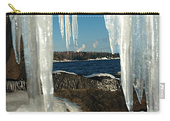 Carry-all Pouch featuring the photograph Window Into Minnesota by James Peterson