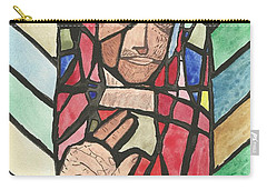 Carry-all Pouch featuring the painting Window Of Peace by Tracey Williams