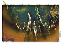 Carry-all Pouch featuring the painting Reefs by Jason Girard