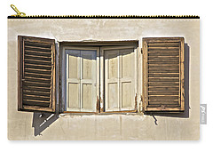 Window Of Tuscany Carry-all Pouch