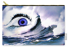 Window Of Your Soul Carry-all Pouch