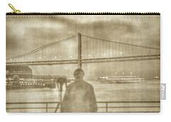window self-portrait Embarcadero San Francisco Carry-all Pouch