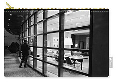 Window Shopping In The Dark Carry-all Pouch by Melinda Ledsome