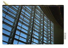 Window Wall At The Adrienne Arsht Center Carry-all Pouch