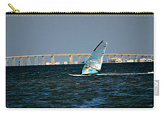Windsailing By Jfk Causeway Carry-all Pouch