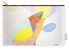 Carry-all Pouch featuring the painting Windy  by Stormm Bradshaw