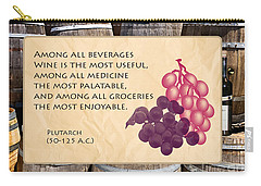 Wine - Best Medicine Carry-all Pouch