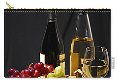 Wine And Grapes Carry-all Pouch