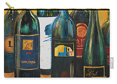 Wine Bar Carry-all Pouch by Sheri  Chakamian