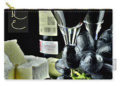 Wine Bottle With Glass Carry-all Pouch
