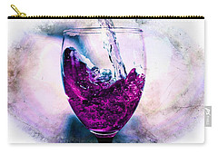 Carry-all Pouch featuring the photograph Wine Country by Aaron Berg