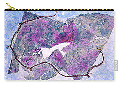 Carry-all Pouch featuring the painting Wine Country In Northern California  by Asha Carolyn Young