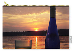 Wine Water Sunset Carry-all Pouch