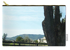 Carry-all Pouch featuring the photograph Winery by Bobbee Rickard