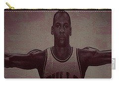 Carry-all Pouch featuring the mixed media Wings by Brian Reaves