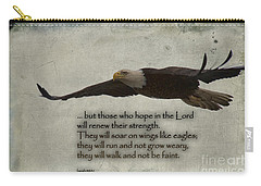 Wings Like Eagles Carry-all Pouch