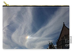 Carry-all Pouch featuring the photograph Angel Wings by Becky Lupe