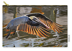 Wings Of Gold Carry-all Pouch