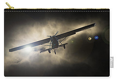 Carry-all Pouch featuring the photograph Wings by Paul Job