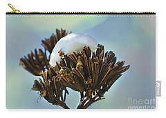 Winter Agave Bloom Carry-all Pouch