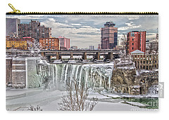 Winter At High Falls Carry-all Pouch