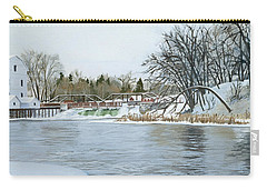 Winter At Phelps Mill Carry-all Pouch