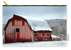 Winter Barn Carry-all Pouch by Deena Stoddard
