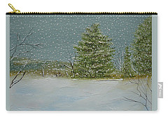 Winter Blanket Carry-all Pouch by Judith Rhue