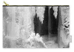 Winter Cave Carry-all Pouch by Jeannette Hunt