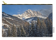 Winter Dolomites Carry-all Pouch