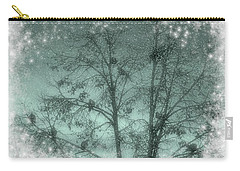 Winter Doves Carry-all Pouch by Diane Alexander