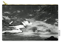 Winter Falls Carry-all Pouch by Jim Brage