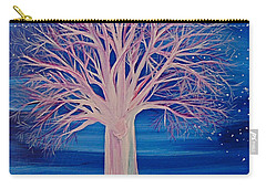 Winter Fantasy Tree Carry-all Pouch by First Star Art