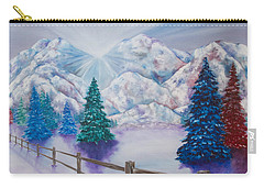 Winter Glow Carry-all Pouch