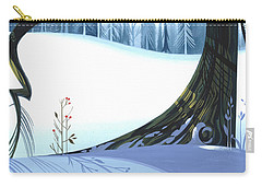 Winter Grace Carry-all Pouch