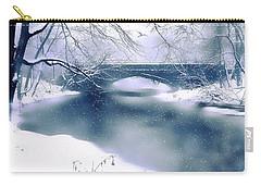 Winter Haiku Carry-all Pouch