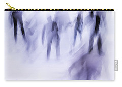 Carry-all Pouch featuring the photograph Winter Illusions On Ice - Series 2 by Steven Milner