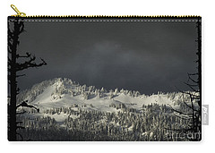 Carry-all Pouch featuring the photograph Winter In North Cascades by Yulia Kazansky