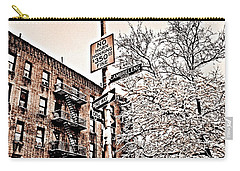 Winter In The Bronx Carry-all Pouch by Paulo Guimaraes