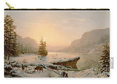 Winter Landscape Carry-all Pouch