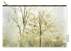 Winter Leaves Carry-all Pouch by Julie Palencia
