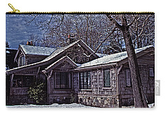 Winter Lodge Carry-all Pouch by Richard Farrington