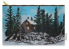 Winter Marshland Carry-all Pouch by Jeanne Fischer